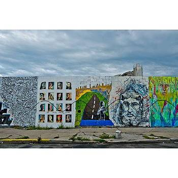 The Wall #brooklyngraffiti by Visions Photography by LisaMarie