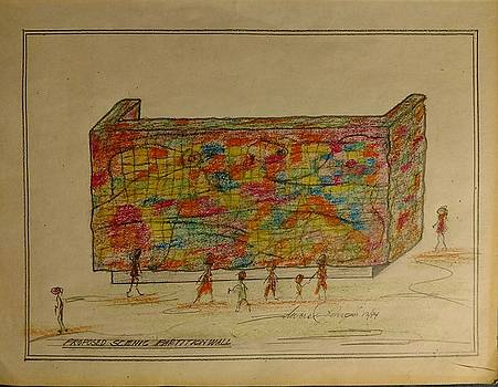 The Wall by Edward Longo