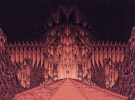 The Walls of Barad Dur by Curtiss Shaffer