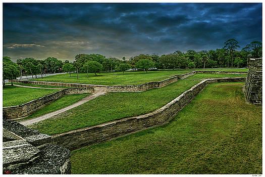 The walls of Castillo de San Marcos by Rogermike Wilson