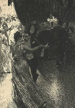 Zorn Anders - The Waltz 1891
