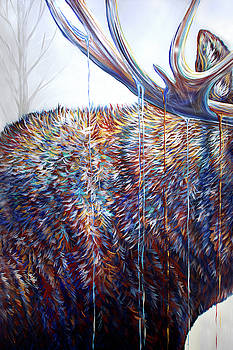 Teshia Art - The Wanderer Triptych Panel 2