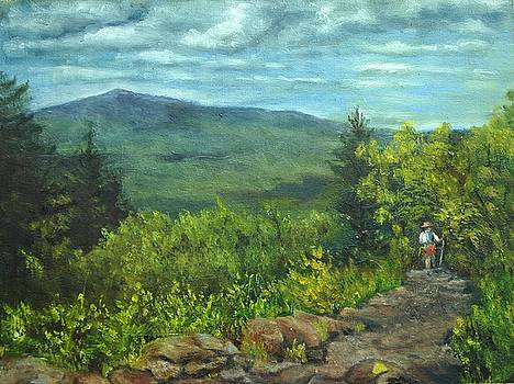 The Wapack Trail by Aline Lotter