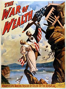 The War of Wealth, Broadway poster, 1895 by Vintage Printery