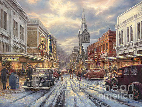 The Warmth of Small Town Living by Chuck Pinson