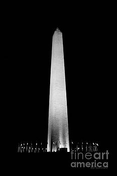 The Washington Monument by E B Schmidt