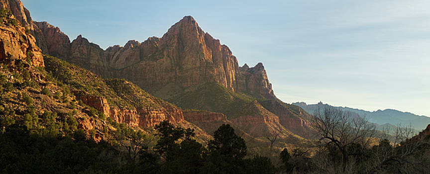 The Watchman Zion NP by Steve Gadomski