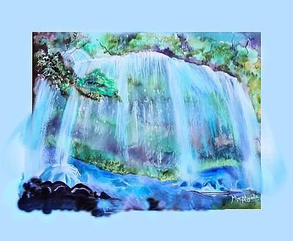 The Waterfall by Myrna Migala
