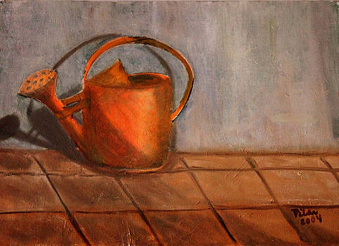 The Watering Can by Pilar  Martinez-Byrne