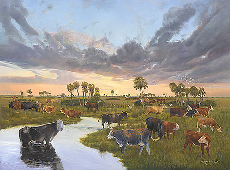 The Watering Hole by Keith Martin Johns