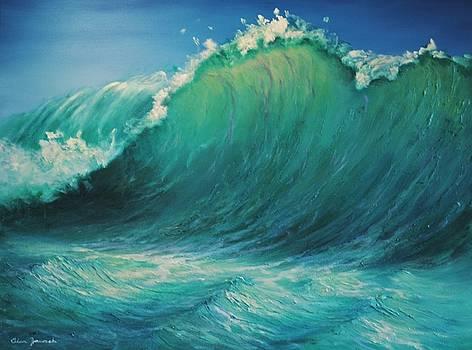 The Wave by Alan Zawacki by Alan Zawacki