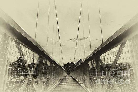 The way over the bridge by Eva-Maria Di Bella