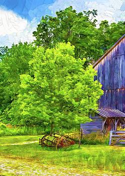 Steve Harrington - The Way We Were - Behind The Barn - Paint