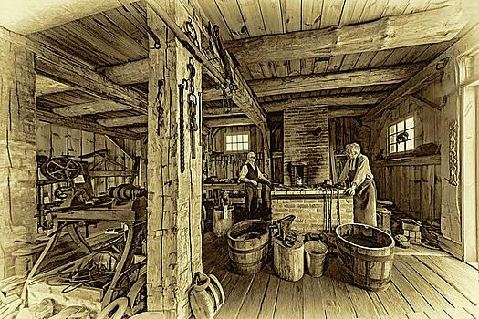 Steve Harrington - The Way We Were - The Blacksmith 2 - Sepia