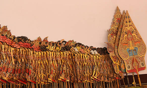 The Wayang Kulit from Java by Mario Bennet