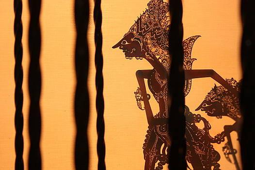 The Wayang Kulit scene by Mario Bennet