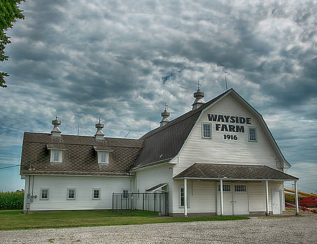 The Wayside Farm Barn by Donna Caplinger