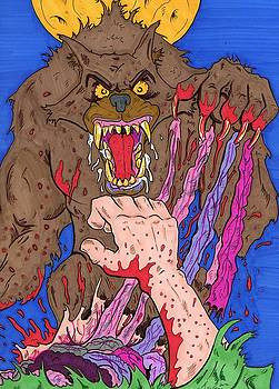 The Werewolfs Dinner by Anthony Snyder
