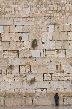 The Western wall by Kobby Dagan