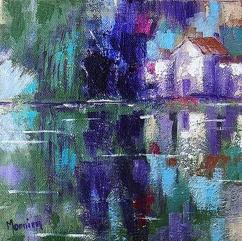 Cathy MONNIER - The Wetlands abstract