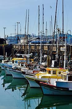 The wharf by Gus Schoenamsgruber