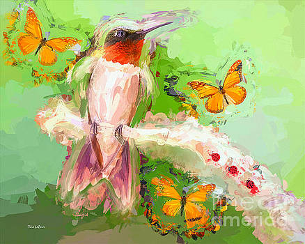 The Whimsical Hummingbird by Tina LeCour