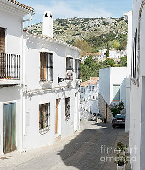 the white city Zuheros in Andalusia in Spain by Compuinfoto