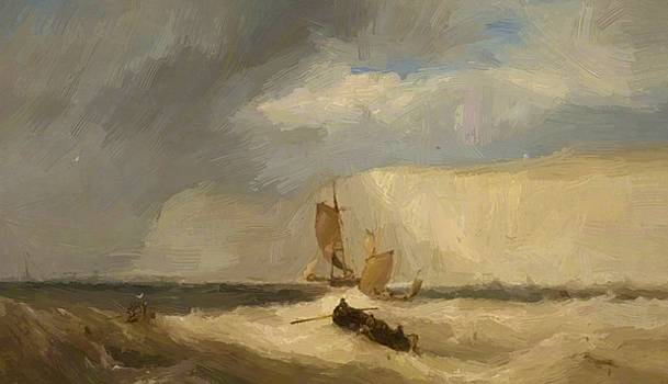 Webb James - The White Cliffs Of Dover 1859