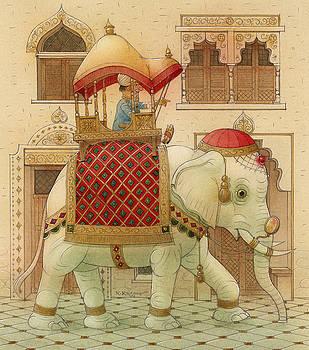 Kestutis Kasparavicius - The White Elephant 01