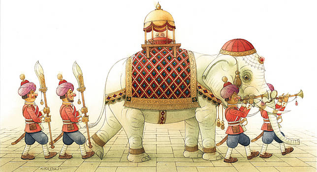 Kestutis Kasparavicius - The White Elephant 06