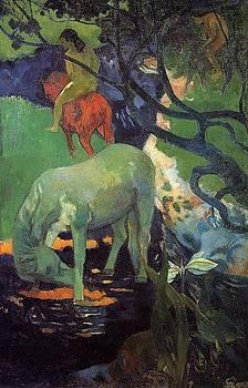 Gauguin - The White Horse