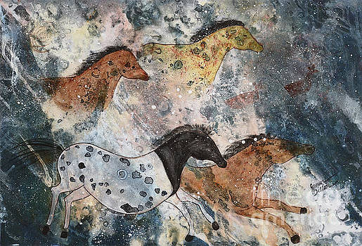 The White Horse by Jann Dillon