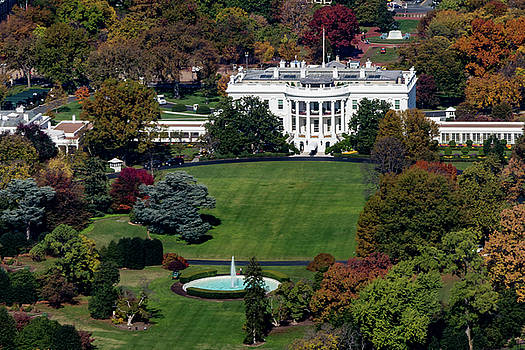 The White House by Ed Clark