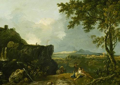 Wilson Richard - The White Monk 1760