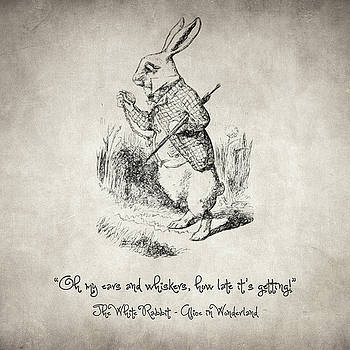 Zapista Zapista - The White Rabbit Quote