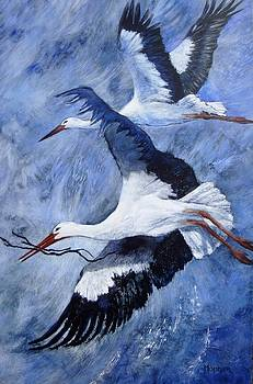 Cathy MONNIER - The White Storks