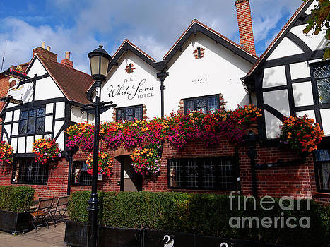 The White Swan Hotel in Stratford upon Avon Warwickshire by Louise Heusinkveld