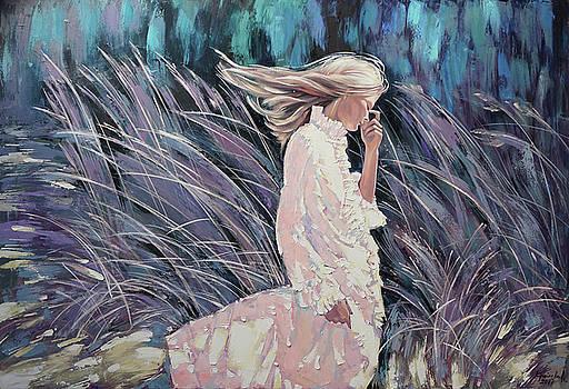 The wind smells of herbs by Anastasija Kraineva