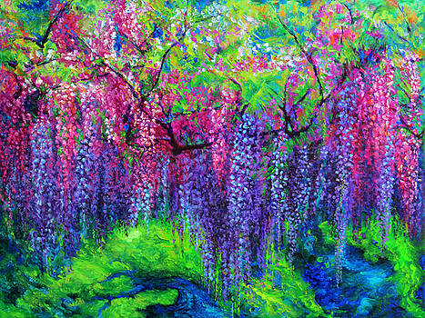 Julie Turner - The Wind Whispers Wisteria