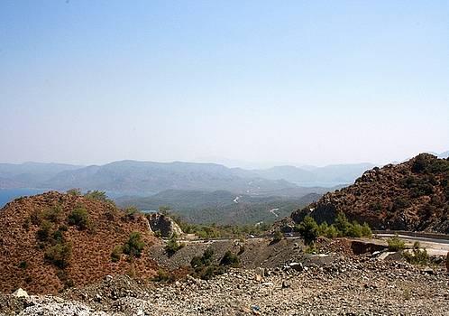 Tracey Harrington-Simpson - The Winding Road of Datca Peninsula Turkey