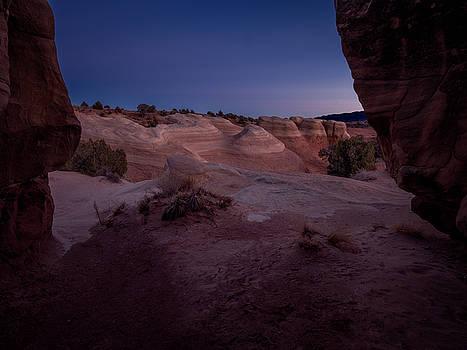 The Window in Desert by Edgars Erglis