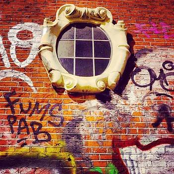 The Window In The Wall. Amsterdam by Aleck Cartwright