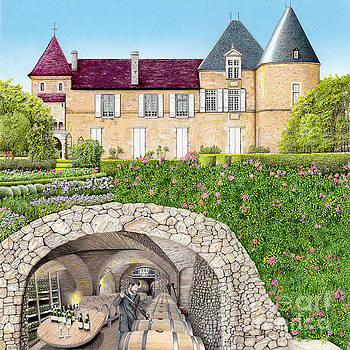 The Wine Caves of France by Albert Puskaric