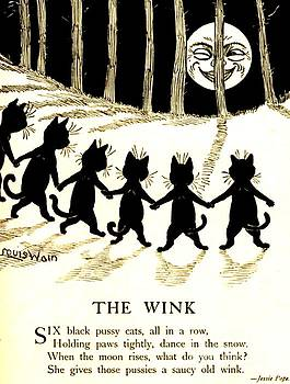 Peter Ogden - The Wink Six Black Pussy Cats