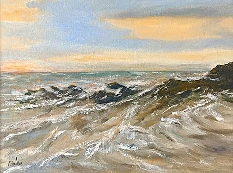 The Winter Surf by Anne Barberi