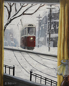 The Winter Window by Dave Rheaume