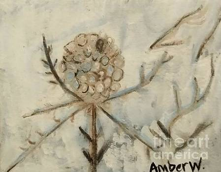 The Winter's Thistle by Amber Waltmann
