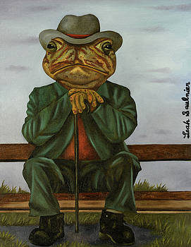 Leah Saulnier The Painting Maniac - The Wise Toad