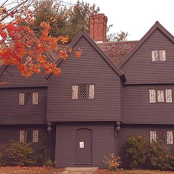 The Witch House-Salem by Jeff Foliage
