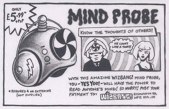 WIZBANG Mind Probe by Hermit